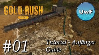 Let's Play Gold Rush The Game #1 | Tutorial - Anfänger Guide | Deutsch