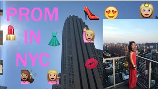 Get ready with me for Prom 2016 in NYC XXL (Vlog-style!, Abiball)