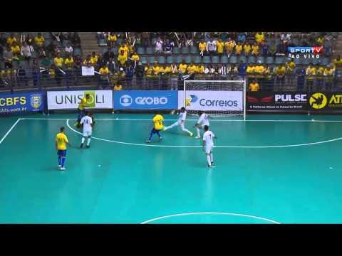 Futsal(SEMI-FINAL) Brasil 8x2 Guatemala - Grand Prix Futsal 2014
