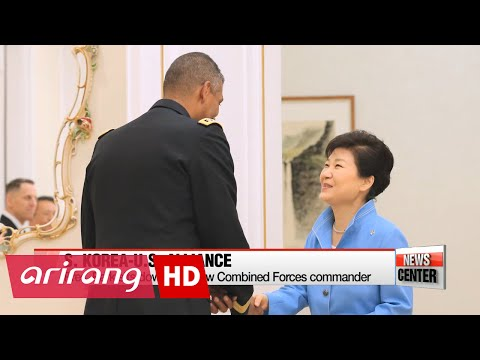 S. Korean president, ROK-U.S. Comined Forces commander vow strong alliance
