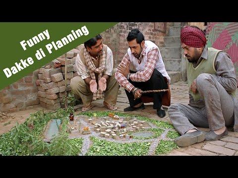 Funny Dakke Di Planning - Punjabi Comedy | Jatt James Bond video