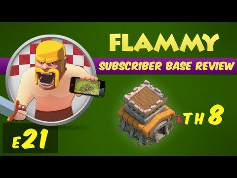 Clash of Clans Subscriber Base Review #21 - Town Hall 8 - Defensive Strategy