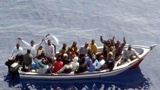 Cause e soluzioni al problema immigrazione documentario Lampedusa (estratto)
