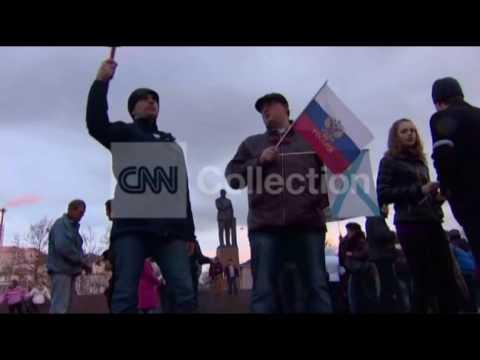 UKRAINE:CRIMEA PRO-RUSSIAN PROTESTERS