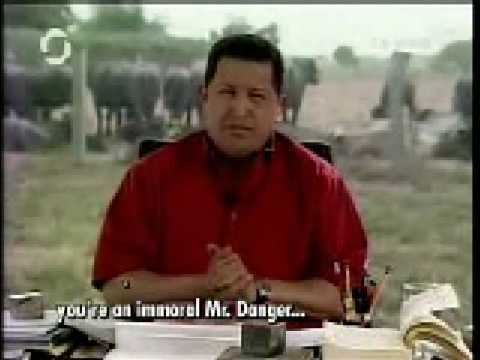 Chavez to Bush! A Farewell Message:
