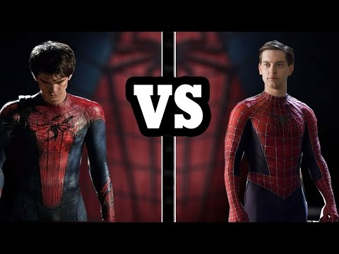 Tobey Maguire vs Andrew Garfield ¿quien es mejor spiderman?