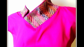 PIPING STRAIGHT COLLAR - EASY MAKING