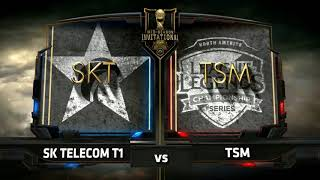 SKT vs TSM - 2017 MSI Group Stage - SK Telecom T1
