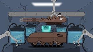 """Ремонт и модернизация. Создание монстра """"Инквизитор"""" - Мультики про танки"""