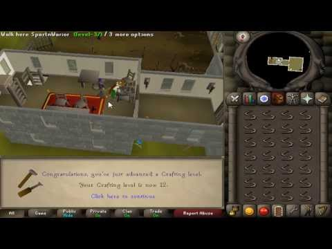 RuneScape 2007: Crafting Guide (Starters)