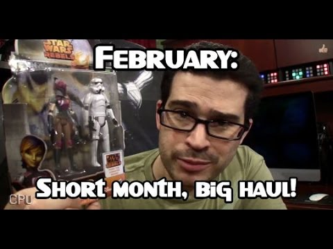 February Nerd Haul - Star Wars, LEGO Minifigs, Comic Books & More!