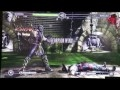 Mortal Kombat 9 - Cyrax/Scorpion Vs Kung Lao/Kitana Gameplay + Fatality (PAX GT)