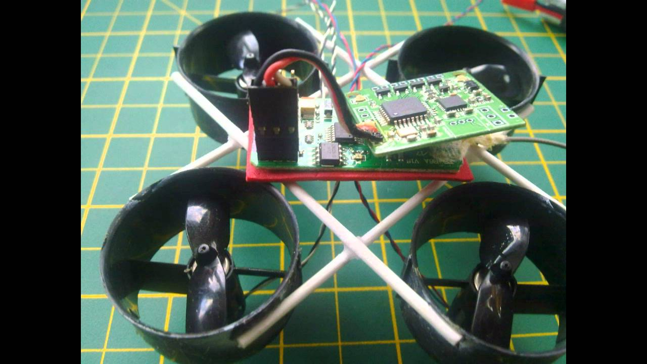 Building A Ducted Fan : Micro ducted fan edf quadcopter build grams with lipo