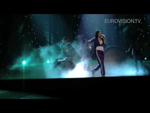 Eva Rivas' first rehearsal (impression) at the 2010 Eurovision Song Contest Video