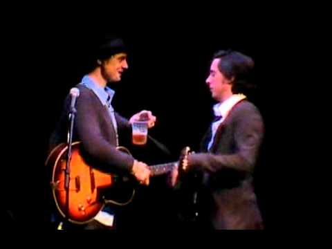Peter Doherty and Carl Barat - Hackney Empire 12april2007