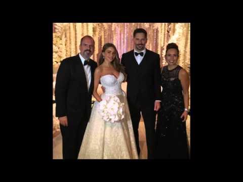 Sofia Vergara & Joe Manganiello's wedding Pics on November 22, 2015
