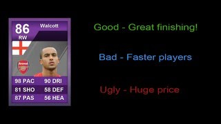 iMOTM Walcott Player Review - FIFA 12 Ultimate Team