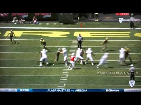 2013 Oregon Spring Game Highlights