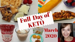 What I Eat In A Day On Keto March 2, 2020