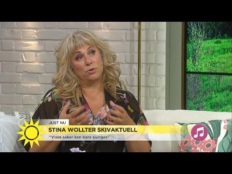 """Stina Wollter """"Jag är trött på att skämmas"""" - Nyhetsmorgon (TV4)"""