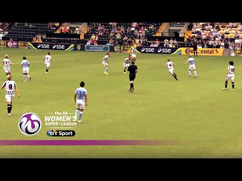 Notts County Ladies 2-2 Manchester City Women | Goals & Highlights