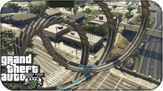 La Serpiente de la Muerte!! Super Looping - GTA V ONLINE PS4