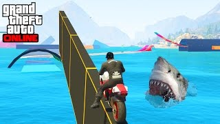 TOTAL WIPEOUT WATER PARKOUR - GTA 5 ONLINE
