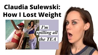 "Weight Loss Coach Reacts to Claudia Sulewski's ""How I Lost Weight"" Video"