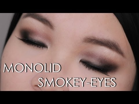 MONOLID SMOKEY-EYES MAKE UP