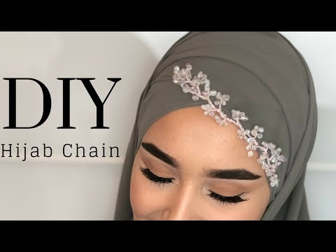 DIY Hair Chain I Haarschmuck I Tikka I Accessoires I Hijab Chain I Bridal Chain - YouTube  By Sevis World