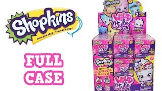 Shopkins Season 9 Wild Style Blind Box Full Case Unboxing Pet Pod Opening Entire Case