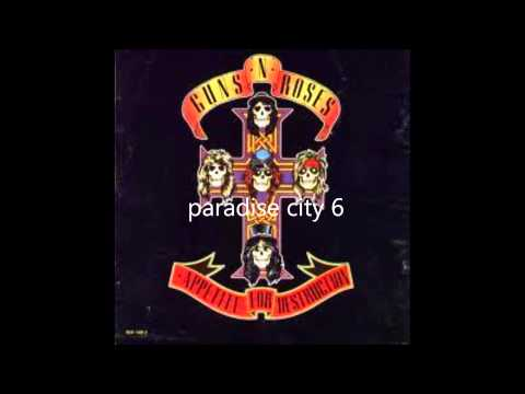 Guns N' Roses Appetite For Destruction ( Full Album ) video