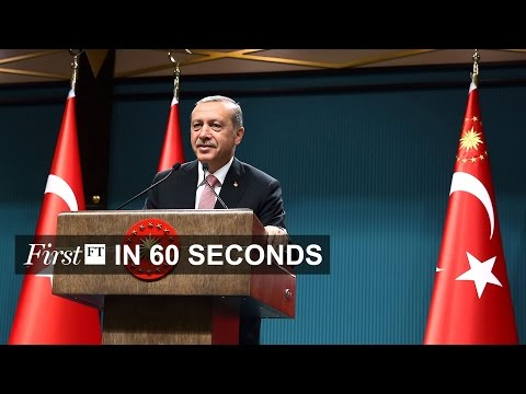 Turkey declares state of emergency, currency traders charged | FirstFT