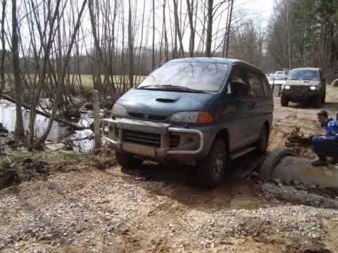 Mitsubishi Delica Space Gear 4x4 4wd Youtube