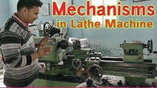 Lathe MachineAll Mechanism Explained  Edutainment