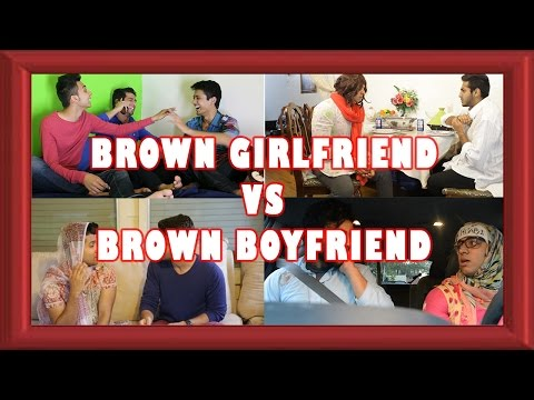 Brown Girlfriend Vs. Brown  Boyfriend video
