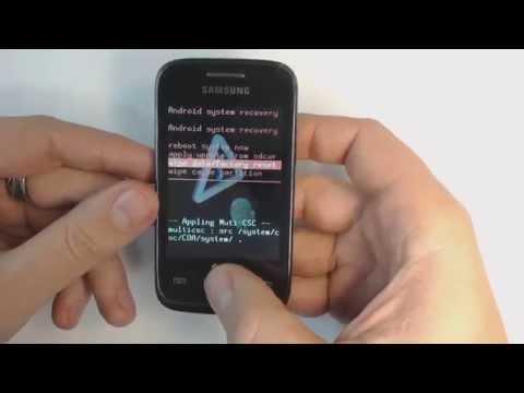 Как сделать сброс настроек на самсунге 6802
