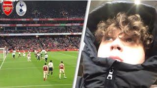 Arsenal 4-2 Tottenham! Away Premier League North London Derby Vlog!