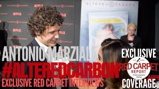 Antonio Marziale interviewed at Premiere of Netflix's #AlteredCarbon #NowStreaming #AltCarb