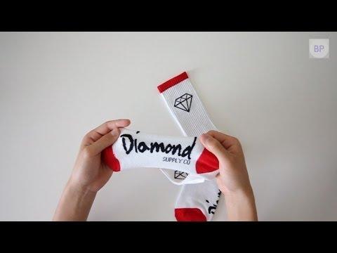 Cheap Diamond Supply Co Socks (Replica)