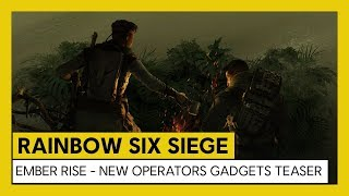 Rainbow Six Siege: Operation Ember Rise – New Operator Gadgets Teaser