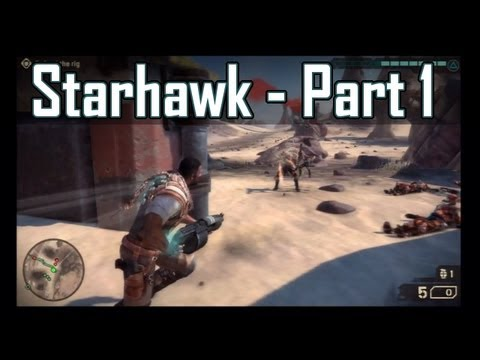 Starhawk Campaign Walkthrough - Mission 1: Homecoming - Part 1