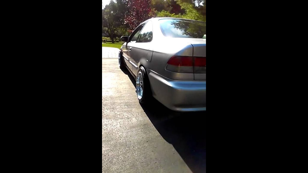 99 Civic With Xxr 531 Youtube