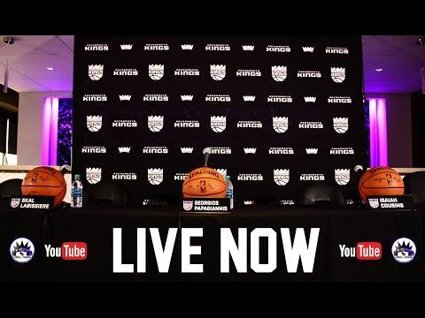 2016 NBA Draft Press Conference for the Sacramento Kings