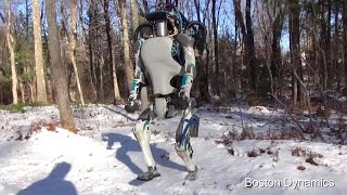 Boston Dynamics - Atlas Next Generation Robot Testing [1080p]