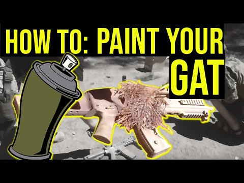 How to Paint Your Airsoft Blaster