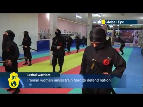 Iran trains Thousands of Female Ninja at a