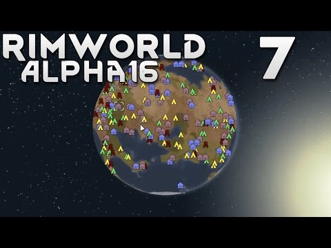 Прохождение RimWorld Alpha 16 EXTREME: #7 - НАЧАЛО ХАРДКОРА!