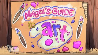 Gravity Falls - Mabel's Guide To Art - Official Disney XD UK HD