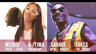Wizkid & Tiwa Savage Awkward ROMANCE & How It All Started?